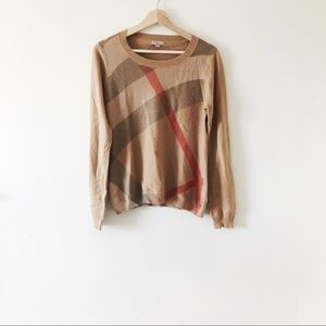 Burberry classic wool cashmere sweater 143A
